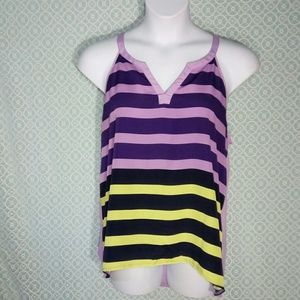NY & Co Striped Tank Top